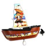 Piratenboot zum Aufziehen