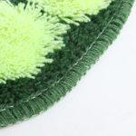 Duschmatte Badezimmer in grün kuschelig